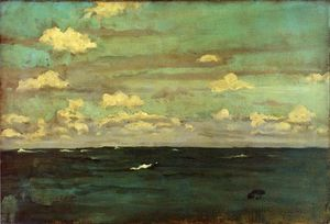 James Abbott Mcneill Whistler - Violet and Siilver: A Deep Sea