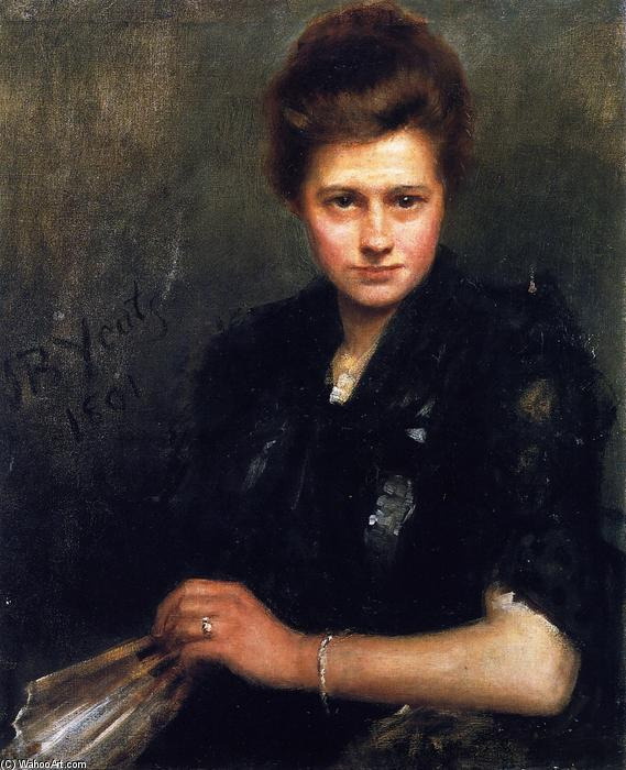 Violet Osborne, 1891 by John Butler Yeats (1871-1957, United Kingdom) | Oil Painting | WahooArt.com