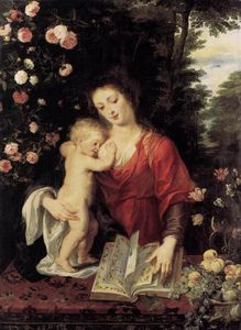Peter Paul Rubens - Virgin and Child