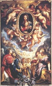 Peter Paul Rubens - Virgin and Child Adored By Angels