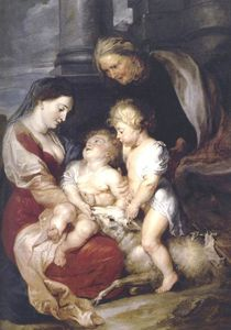 Peter Paul Rubens - The Virgin and Child with St Elizabeth and the Infant St John the Baptist
