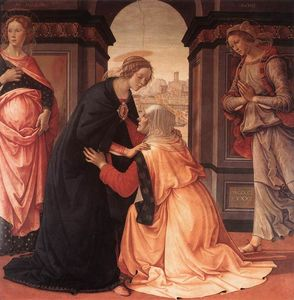 Domenico Ghirlandaio - Visitation
