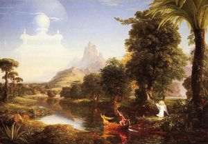 Thomas Cole - The Voyage of Life: Youth