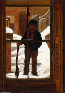 John George Brown - Waiting for a Job