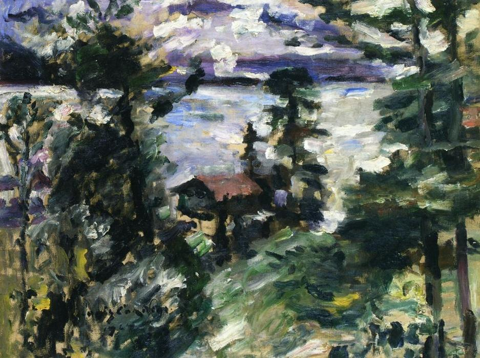 Walchensee, Morning Fog, Oil On Canvas by Lovis Corinth (Franz Heinrich Louis) (1858-1925, Netherlands)