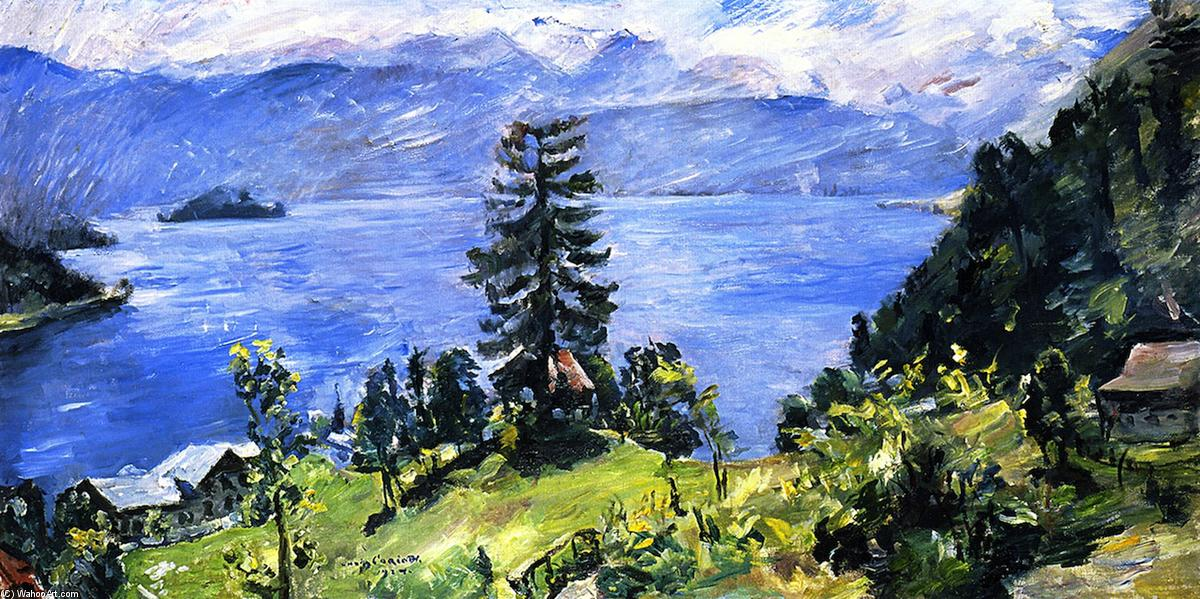 Walchensee Panorama, 1924 by Lovis Corinth (Franz Heinrich Louis) (1858-1925, Netherlands) | Art Reproduction | WahooArt.com