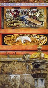 Henry Roderick Newman - Wall Enclosing the Mausoleum of Ieyasu at Nikko