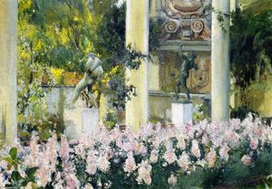 Joaquin Sorolla Y Bastida - Wallflowers in the Garden of the Sololla House