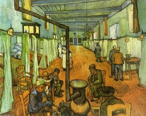 Vincent Van Gogh - Ward in the Hospital at Arles