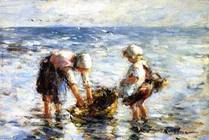 Robert Gemmell Hutchison - Washing the Basket