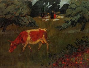 Paul Serusier - The Wash in a Large Meadow