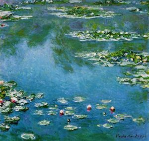 Claude Monet - Water-Lilies (15)