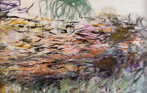 Claude Monet - Water-Lilies (right half)