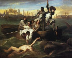 John Singleton Copley - Watson and the Shark - (Famous paintings)