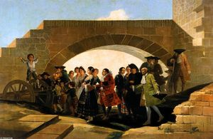 Francisco De Goya - The Wedding