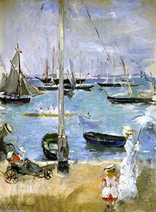 Berthe Morisot - West Cowes (also known as Port in England)