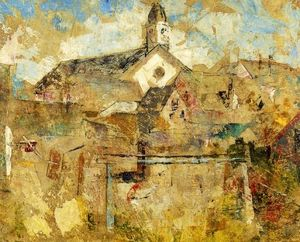 Charles Webster Hawthorne - White Church