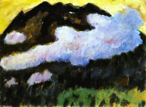Alexej Georgewitsch Von Jawlensky - White Cloud