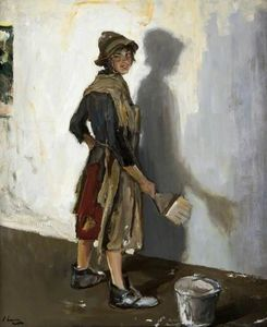 John Lavery - Whitewashing