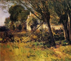 Theodore Robinson - Willows (also known as Enn Picardie)