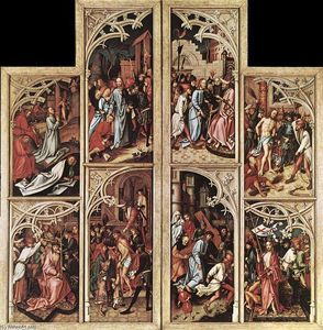 Hans Holbein The Elder - Wings of the Kaisheim Altarpiece