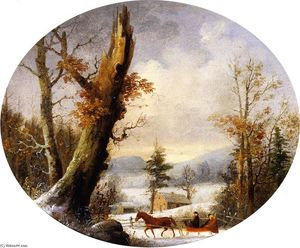 George Henry Durrie - Winter