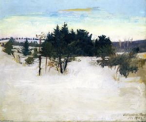 Abbott Handerson Thayer - Winter Landscape