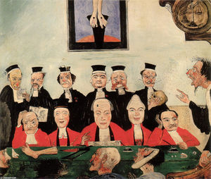 James Ensor - The Wise Judges