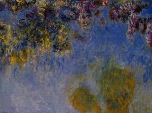 Claude Monet - Wisteria