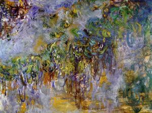 Claude Monet - Wisteria (right half)