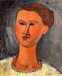Amedeo Modigliani - Woman's Head