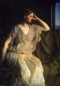 Abbott Handerson Thayer - Woman in Grecian Gown