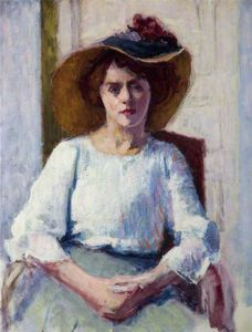 Roderic O'conor - Woman in White
