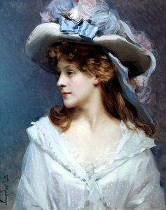 Raimundo De Madrazo Y Garreta - Woman in White