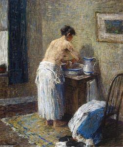 Robert Spencer - Woman Washing