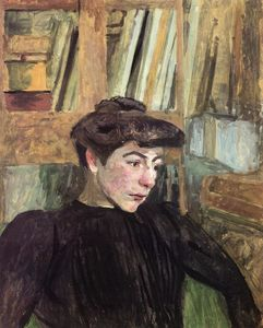 Jean Edouard Vuillard - Woman with Black Eyebrows