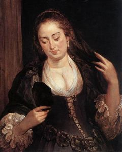 Peter Paul Rubens - Woman with a Mirror