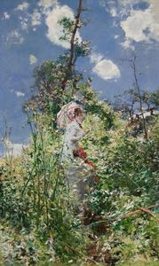 Giovanni Boldini - Woman with a Parasol