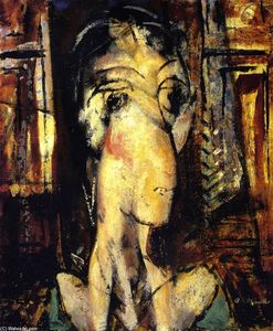 Alfred Henry Maurer - Woman with Raised Shoulders