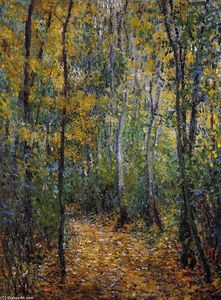 Claude Monet - Wood Lane
