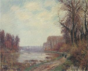 Gustave Loiseau - Woods by the Oise River