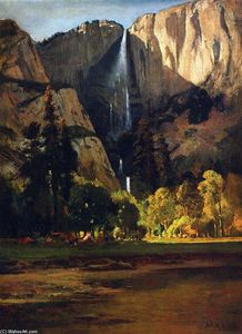 William Keith - Yosemite Falls