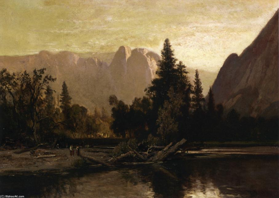 Yosemite Valley, Oil On Canvas by William Keith (1838-1911, Scotland)