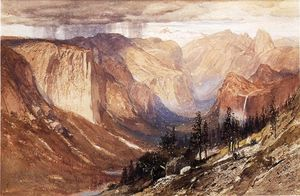 Samuel Colman - Yosemite Valley, California