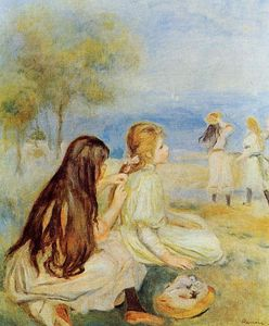 Pierre-Auguste Renoir - Young Girls by the Sea