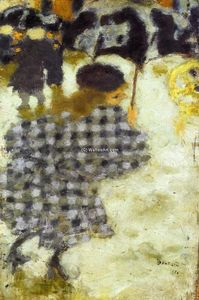 Pierre Bonnard - Young Girl with Umbrella