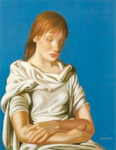 Tamara De Lempicka - Young Lady with Crossed Arms