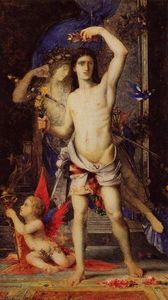 Gustave Moreau - Young Man and Death