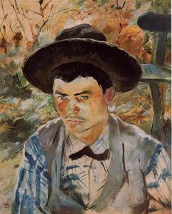 Henri De Toulouse Lautrec - The Young Routy in Celeyran