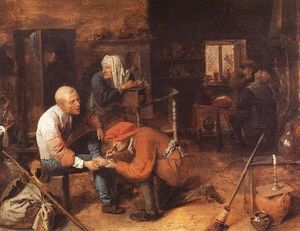 Adriaen Brouwer - Operation on foot